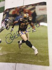 Joe horn autographed 8x10 New Orleans saints Gameday Hologram D