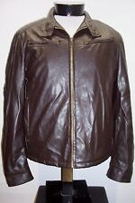 COLUMBIA medium M Insulated Faux-Leather Jacket Combine ship w/Ebay cart