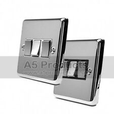10 Amp Light Switch 3 Gang 2 Way Polished Chrome Classic Style