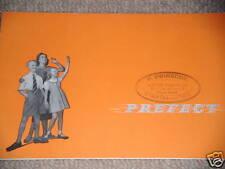 FORD PREFECT FORD ANGLIA PREFECT CAR BROCHURE 1955 RARE