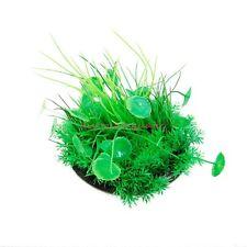 Realistic Decorative Aquarium Fish Tank Reptile Ornament Plastic Plant 1502