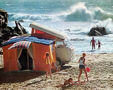 1969 Volkswagen Bus Westfalia Camper Photo Poster zm0757-CN72H1
