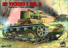 VICKERS E MK A - (POLISH & FINNISH ARMY MARKINGS, 1939) 1/35 RPM panzer
