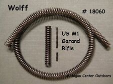 Wolff M1 GARAND RIFLE SPRING SERVICE PAK Ejector Extractor Hammer Recoil W18060