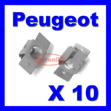 PEUGEOT ENGINE UNDERTRAY UNDER SHIELD RETAINING FIXING COVER CLIPS CLAMP