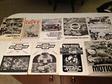 Set of Baldwin Motion Performance catalogs / guides - 10+