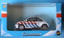 VW VOLKSWAGEN NEW BEETLE POLITIE CARARAMA 1/43 DUTCH