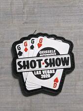 Geissele Automatics 2020 Shot Show Las Vegas Promo Pvc Morale Patch