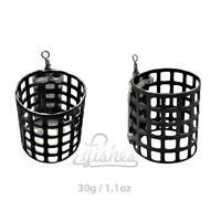 2pcs Carp Basket Fishing Feeder 30g /1.1oz Method Coarse Bait Fishing Tackle