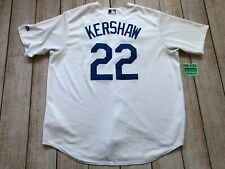 Dodgers Kershaw Majestic Jersey Jersey Stitched World Series 2017 Men XLarge XL❄