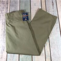 Vintage Dickies Chinos Men's 36W 30L Beige Straight Leg With Tags Distressed