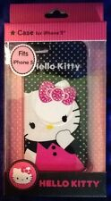 Hello Kitty Hard Shell Case For iPhone 5 Durable Glossy Jeweled Pink Bow New