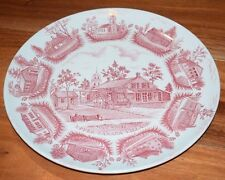 Vintage Upper Canada Village - Adams Micratex - Real English Ironstone Plate