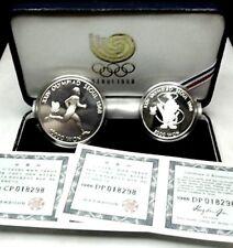 SEUL (Olympics 1988) 5000-10000 Won Silver- UNC./PROOF