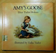 Amy's Goose by Efner Tudor Holmes 1977 HC DJ Tasha Tudor Illustrations 1ST PRT