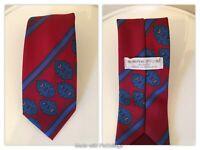 Vintage Sans Rival celtic paisley style print tie