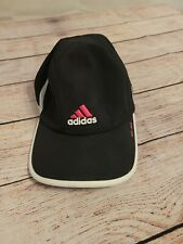 ADIDAS Black/White/Pink ADI-ZERO ATHLETIC Tennis Golf Hat Cap Women