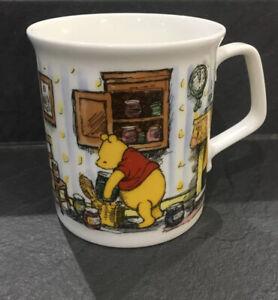 Royal Doulton Disney Winnie The Pooh Pooh's Basket Collectors Mug Cup Bone China