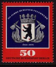 GERMANY MNH STAMP DEUTSCHE BUNDESPOST BERLIN 1976 FIRE SERVICE SG B507