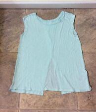 Old Navy Girls Mint Green Top Split Back Opening Size M (8)