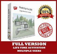 SketchUp Pro 2020 ✅ 64 bits Full Version 🔑 Lifetime Activation + Video Guide ✅