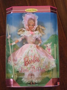 Barbie Little Bo Peep - 1995 Childrens Collector Series - Never Removed From Box