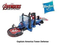 Hasbro Marvel  Avengers Age of Ultron Captain America Tower Defense  w/ figures
