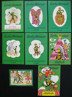 5x Lurchis Abenteuer Heft 22 53 55 56 57 + 2 Malbuch + Puzzle - Salamander Comic