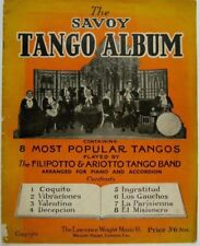 THE SAVOY TANGO ALBUM filipotto / ariotto bands , 1926 , nice cover art