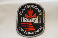Canadian Scarborough Ontario Fire Department Patch