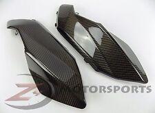 2007-2009 Aprilia Shiver 750 Gas Tank Side Trim Panel Cowl Fairing Carbon Fiber