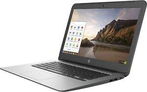 HP ChromeBook 14 G4 Intel Celeron-N2840 2.16GHz 4GB 16GB Chrome OS