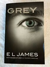 4 BOOK LOT:  50 Fifty Shades of Grey Trilogy plus Grey as Told By Christian