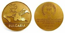 FILA WORLD WRESTLING CHAMPIONSHIP 1991  PARTICIPANT MEDAL PLAQUE