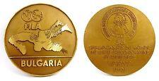 FILA WORLD WRESTLING CHAMPIONSHIP 1991  PARTICIPANT MEDAL PLAQUE