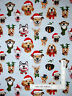 Christmas Humor Puppy Dog Selfies Cotton Fabric Elizabeths Studio By The Yard