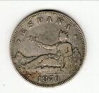ESPAGNE REPUBLIQUE 2 PESETAS ARGENT 1870