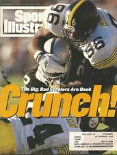 PITTSBURGH STEELERS BRENTSON BUCKNER 1994 SPORTS ILLUSTRATED PANTHERS RAIDERS