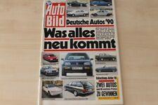 2) Auto Bild 41/1989 - Peugeot 309 GTI mit 120PS i - Ferrari Mondial t mit 300PS
