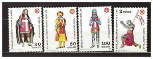 S31350) Smom 1984 MNH Uniforms 4v