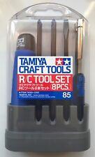 Tamiya 74085 RC Tool Set (8 Pcs) (Tamiya Craft Tools) NIB
