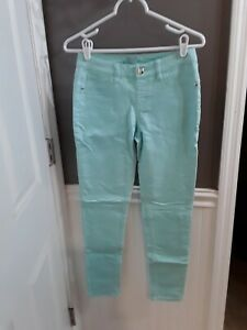 Justice Simply Low Jeggings green  Girl's Size 14 GUC 🙂FAST SHIP 🙂