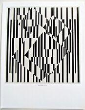 Victor Vasarely  OET-OET Framable Optical Artwork 14x11 Offset Litho