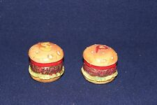 Enesco Hambuger Salt and Pepper Shakers Made in Japan E9978
