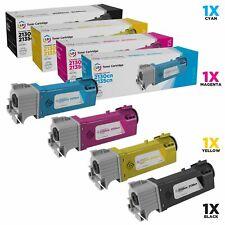 LD Comp Dell 2135cn 2130cn Set of 4 HY Toner T106C T107C T109C T108C