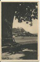 Ansichtskarte Hammelburg - Blick auf Schloss Saaleck - schwarz/weiß