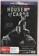 House of Cards (U.S. Version) Complete Season 2 Set Region 4  *NEW*  4-DVD Set