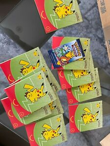 Pokemon 25th Anniversary McDonalds Sealed Booster Pack Packs auf Lager