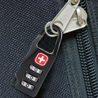 Bags Baggage Door Padlock 3 Dial Digit Combination Safe Code Password Locks
