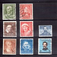 GERMANY 1949-52 commems used HICV